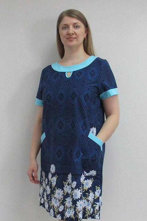 086. платье женское домашнее 086/001н