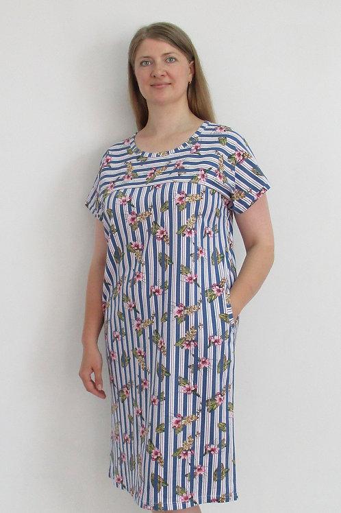 163. платье женское домашнее 163/001н