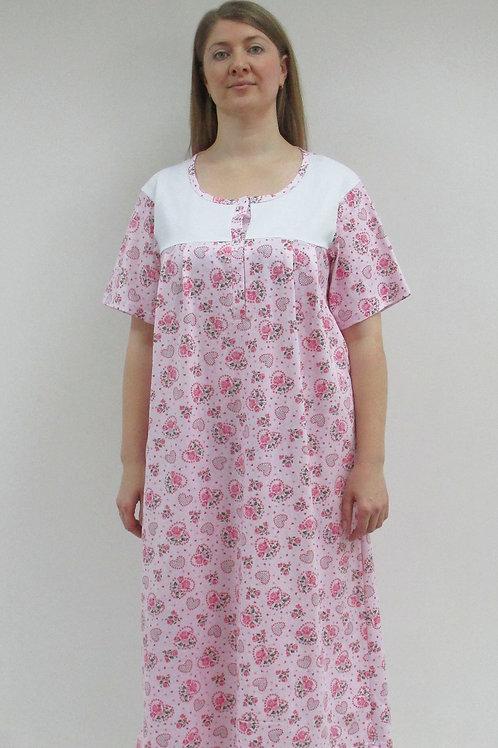 657.сорочка женская ночная 657/001н