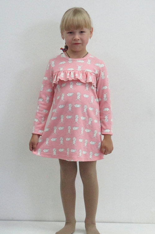 599. платье для девочки 599/067н,067нм