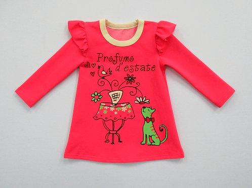 592п. платье для девочки 592П/278м
