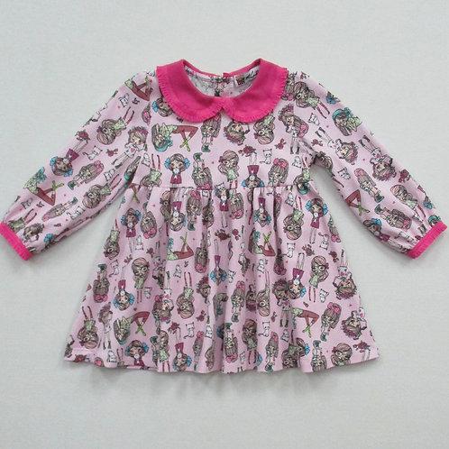 638. платье для девочки 638/800н