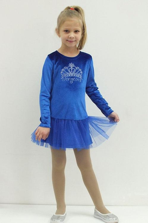 016п. платье для девочки 016п/600