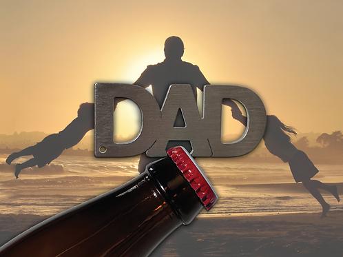 """""""DAD"""" Bottle Opener Keychain"""