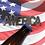"""Thumbnail: """"AMERICA"""" Bottle Opener Keychain"""