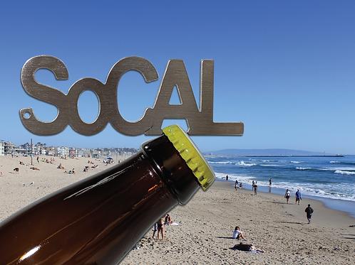 """""""SoCAL"""" Bottle Opener Keychain"""