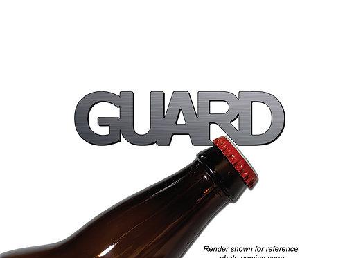 """""""GUARD"""" Bottle Opener Keychain"""