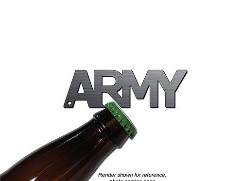 """ARMY"" Bottle Opener Keychain"