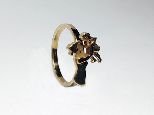 Mother and Daughter Ring - Motherhood Collection