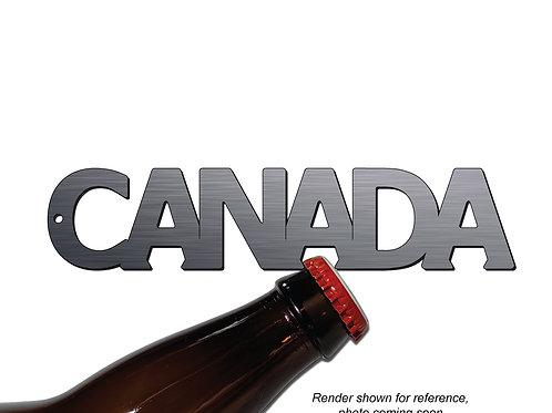 """CANADA"" Bottle Opener Keychain"