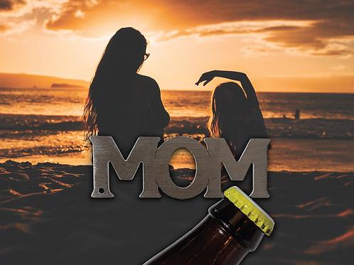 """""""MOM"""" Bottle Opener Keychain"""
