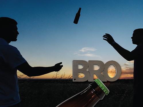 """""""BRO"""" Bottle Opener Keychain"""