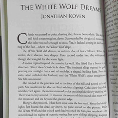 The White Wolf Dreams