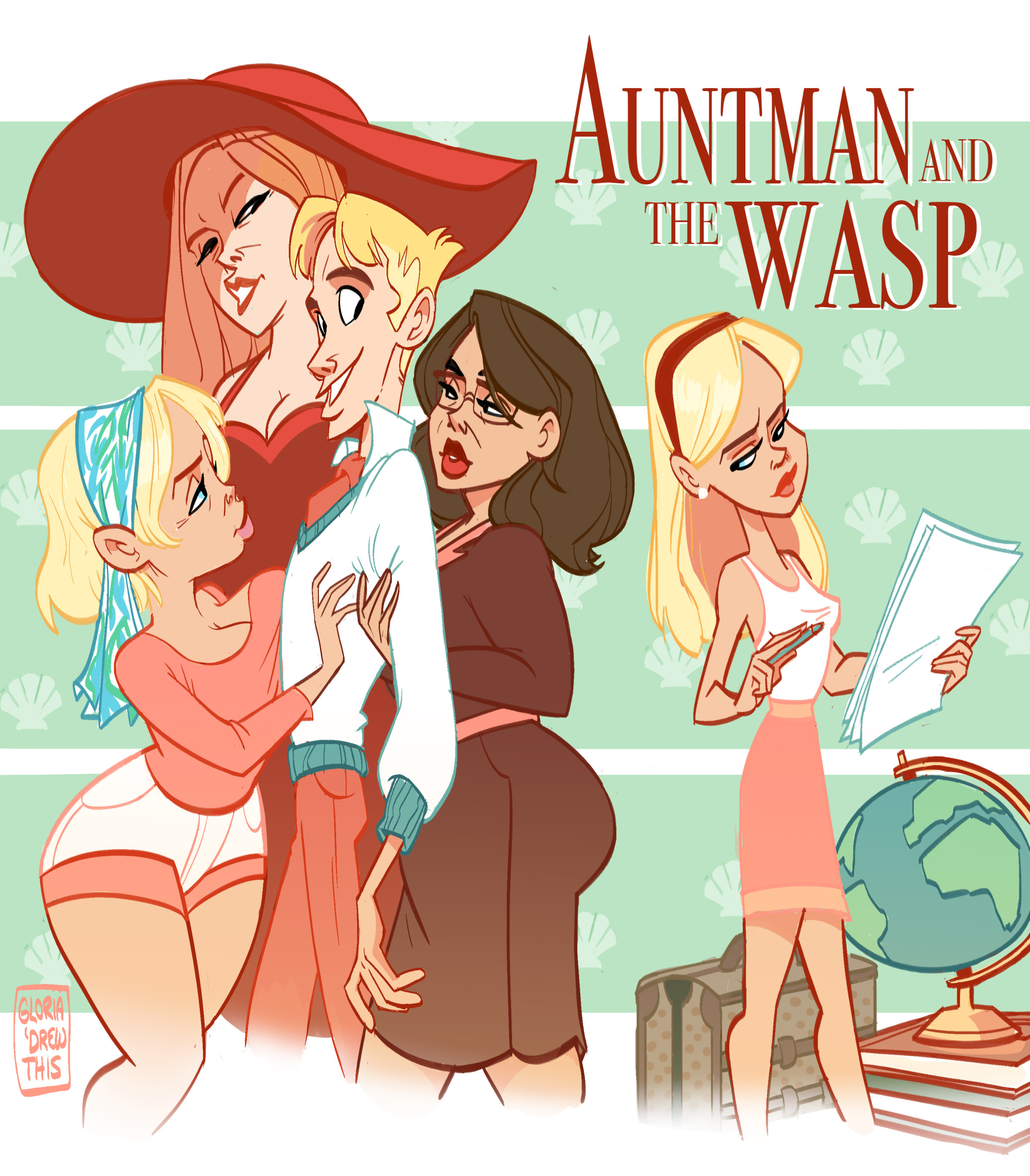 Auntman and The Wasp