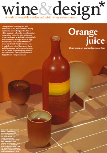 Care for Milk ceramics  in Wallpaper*, issue December 2016