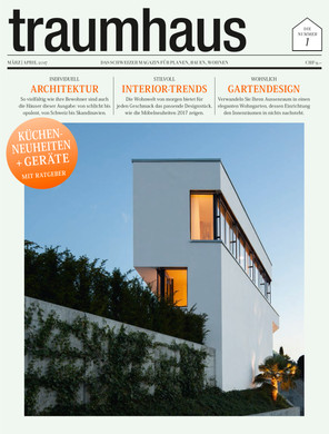 Publication in Traumhaus magazine