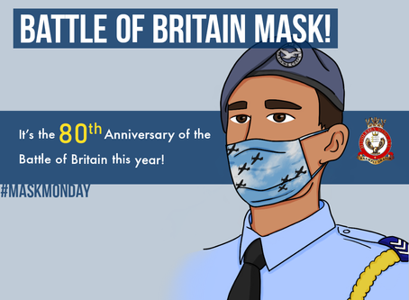 Design your own Battle of Britain Mask!