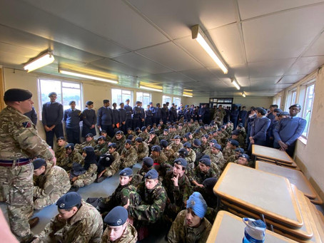 Cadets get stuck into a Multi Activity Camp!