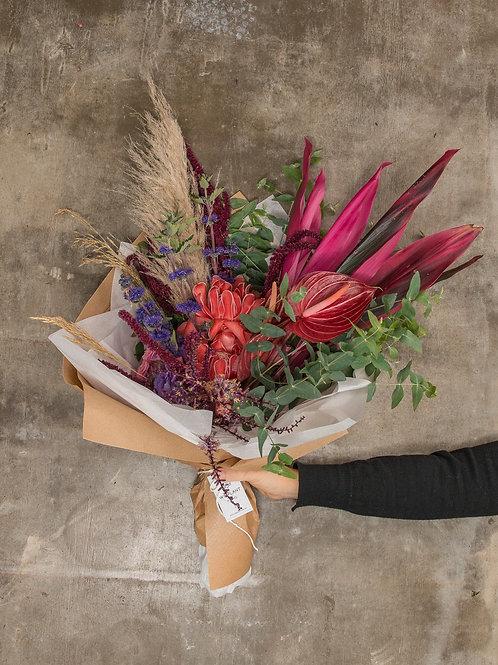 Buquê We Plant flores frescas (escolha o tamanho)