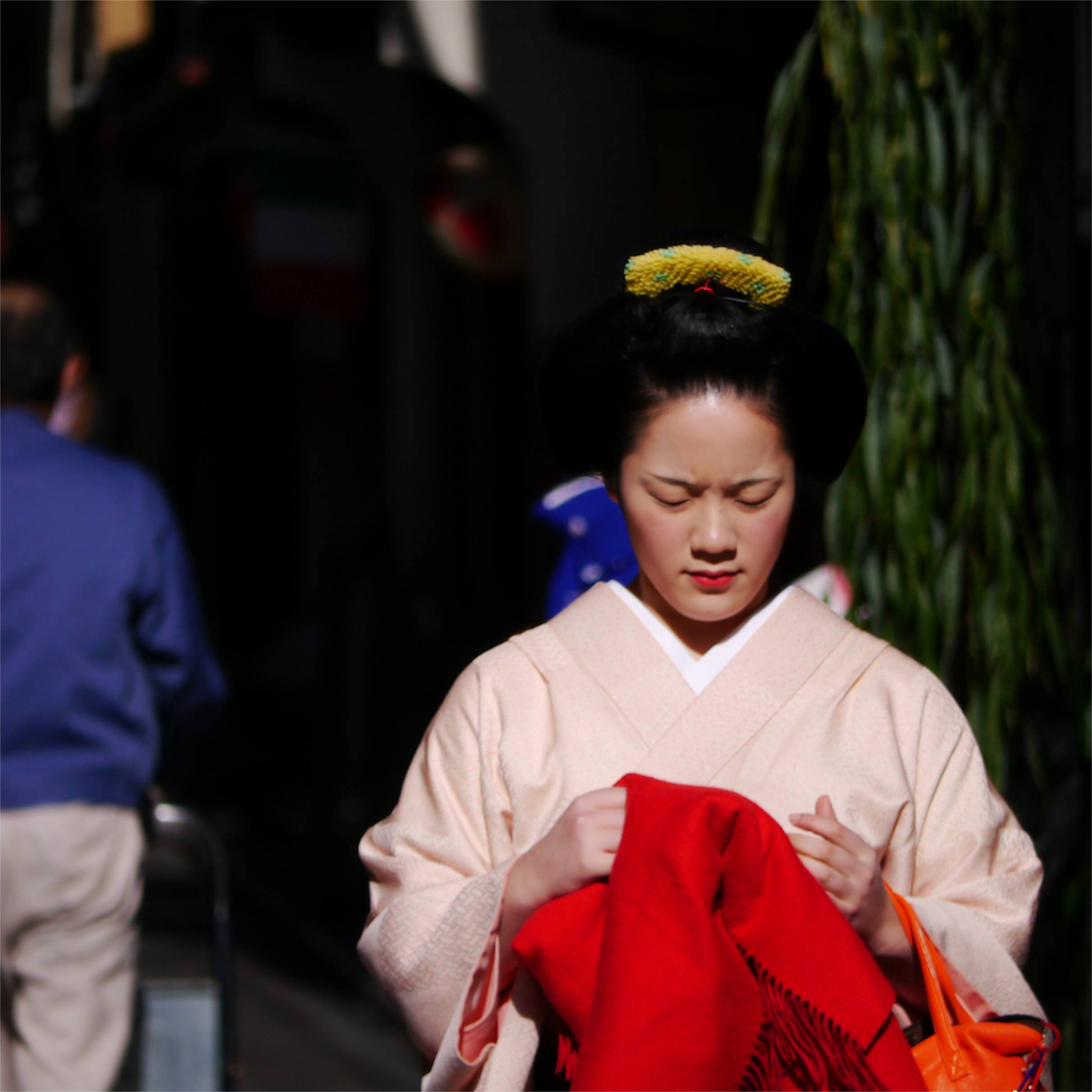 Woman in Kyoto, 2013