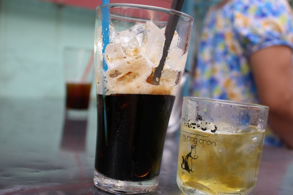 Ice cofee, Ho Chi Minh ville, 2014