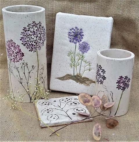 Textile and Ceramic Art