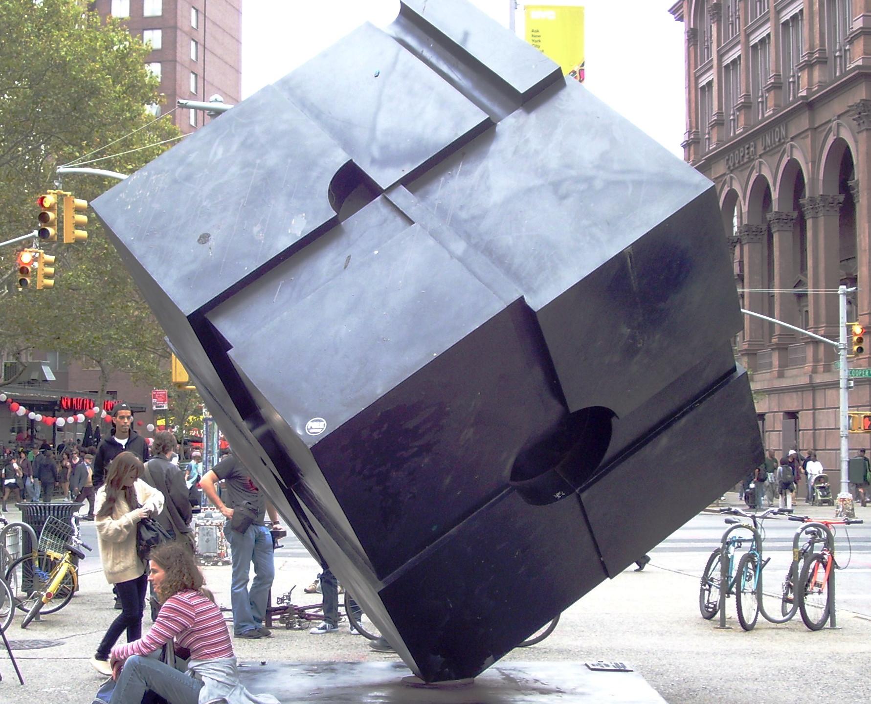 Beyond My Ken, Astor Place Cube