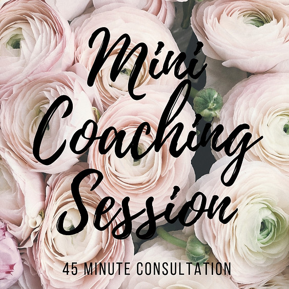 Mini Coaching Session