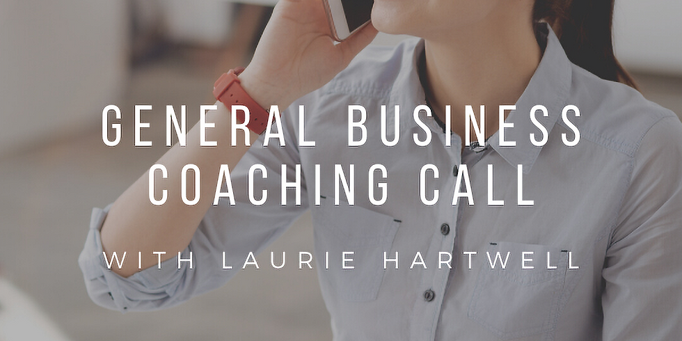 GENERAL COACHING SESSION