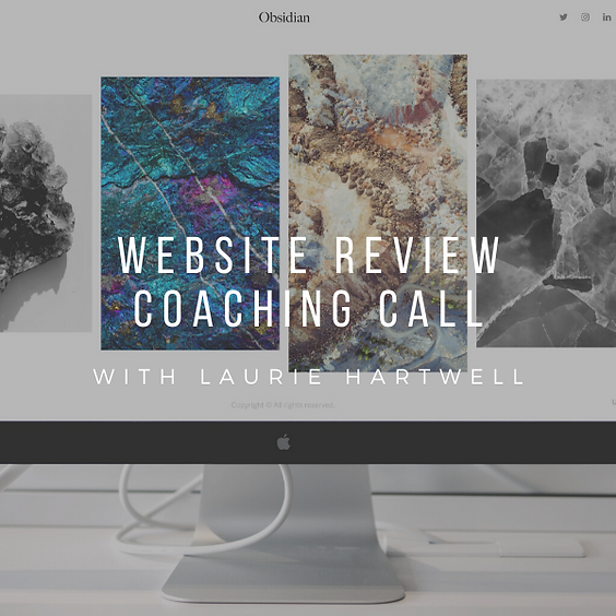 WEBSITE REVIEW COACHING CALL