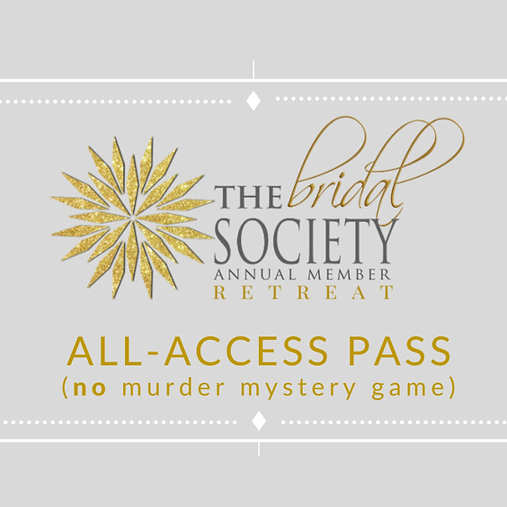 All-Access Pass (No Murder Mystery Game)