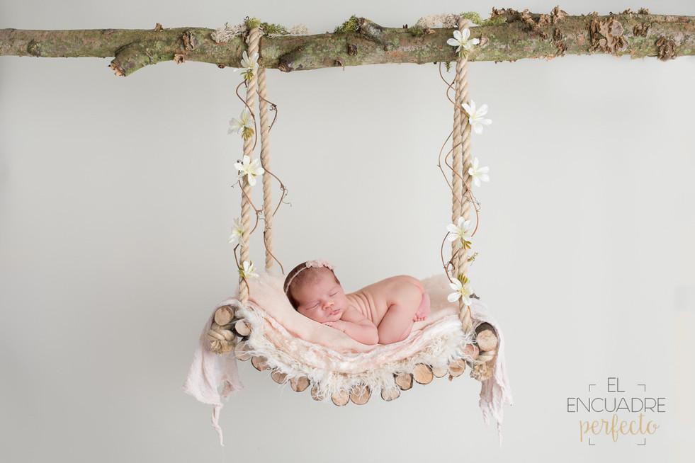 Fotografía Recién Nacido en Burgos - Naia, 11 días