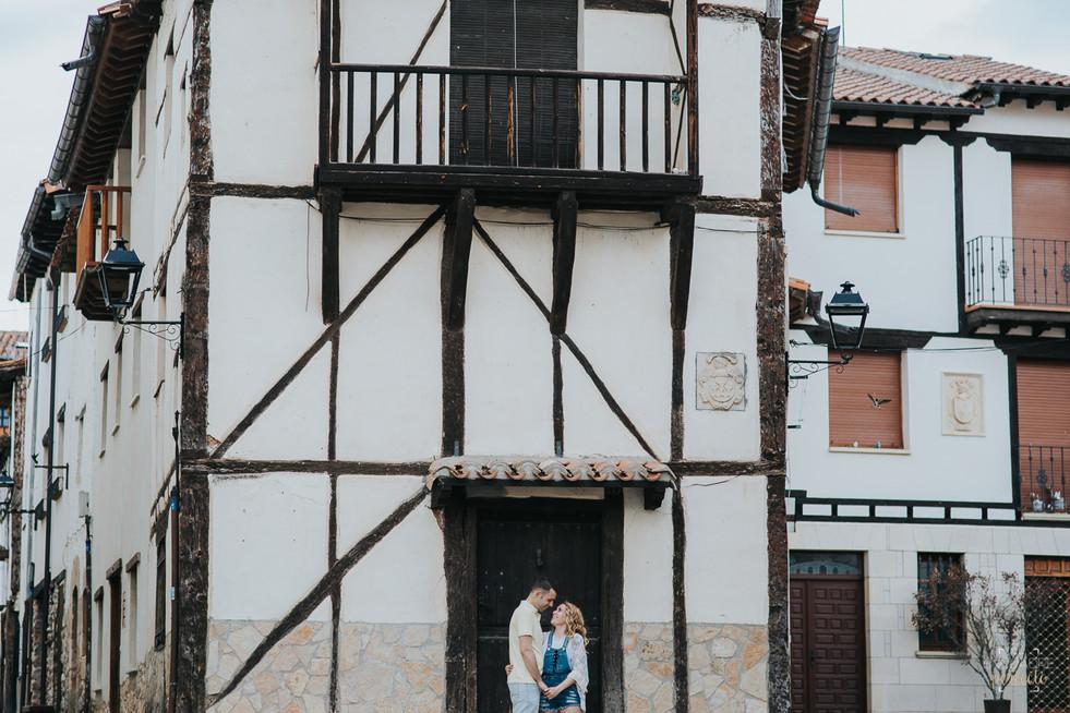 Reportaje Fotos Preboda en Covarrubias, Burgos - Rocio y Hector