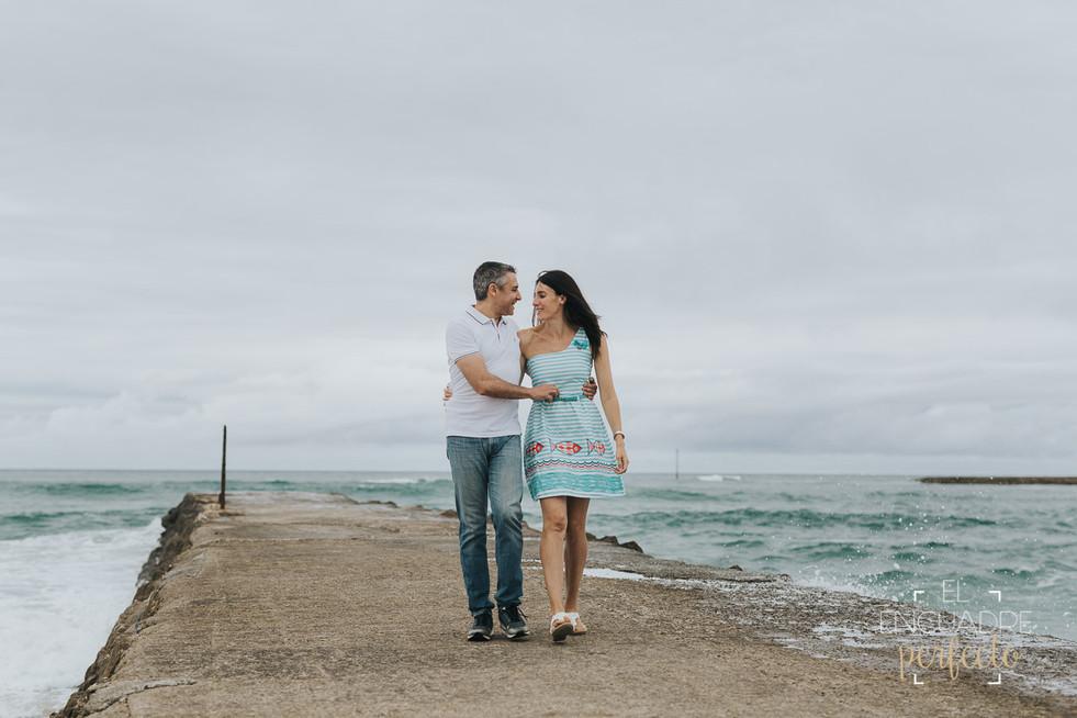 Reportaje Preboda en Suances - Veronica y Alfonso