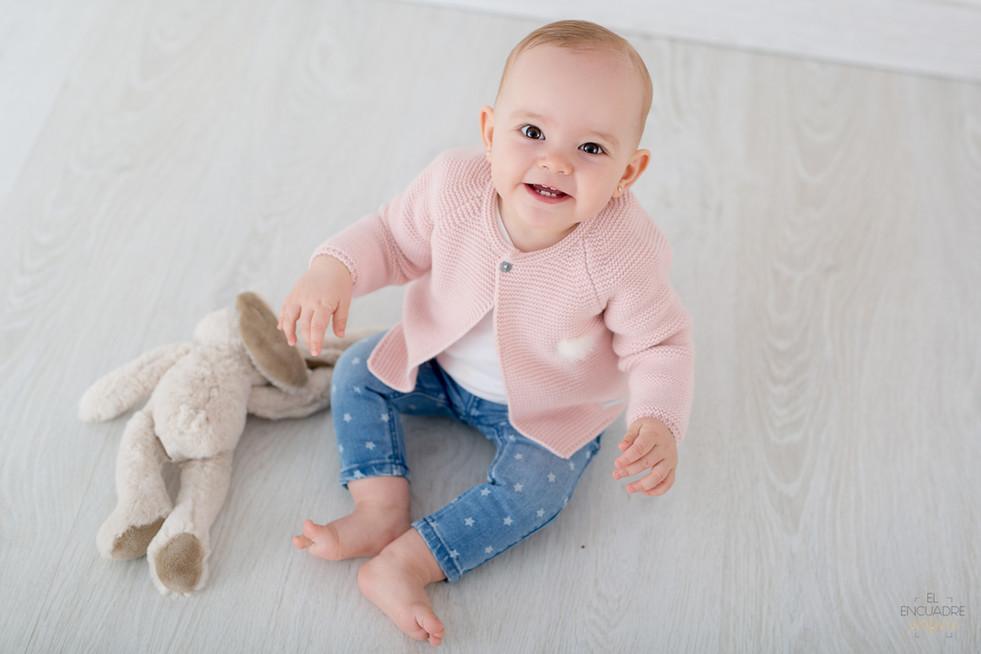 Sesión Fotos Bebé en Burgos - Alba, 10 meses
