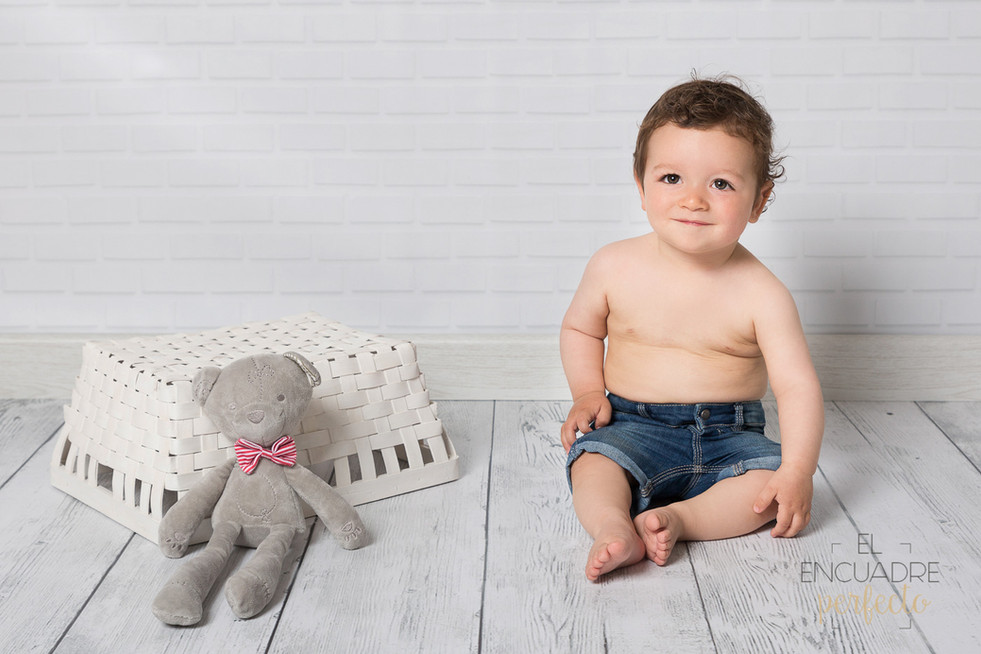 Fotografía Bebés en Burgos - Aimar, 9 meses