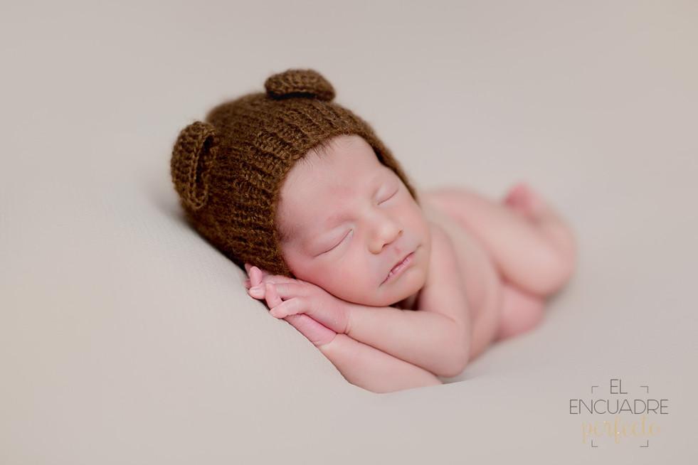 Fotografía Recién Nacido en Burgos - Lucas, 12 días