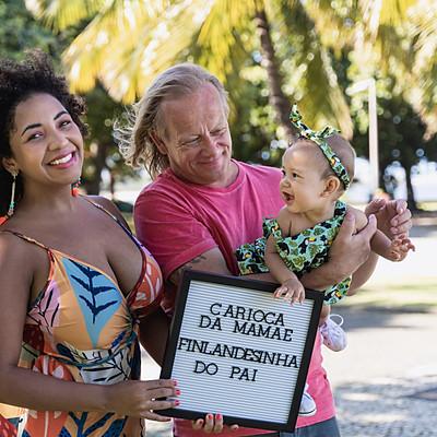 6 meses da Maya