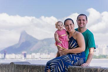 Fotografia de famílias