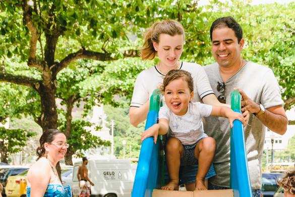 Sara e família 1