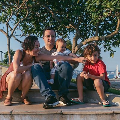 Sandra e família