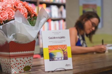 Lançamento livro Saúde e o Sujeito