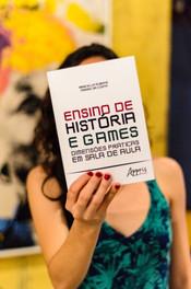 Lançamento livro Ensino de História e Games