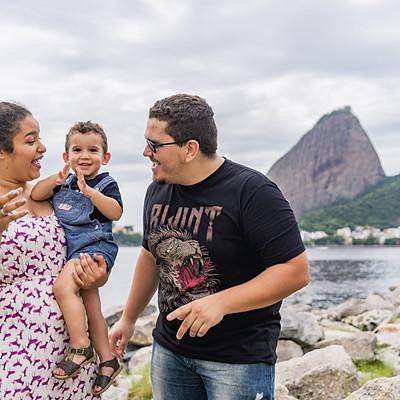 Juliana e família