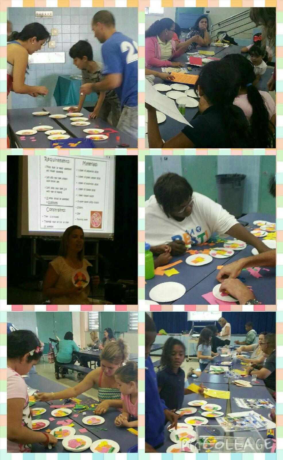 STEM Family Night-Assembly Line