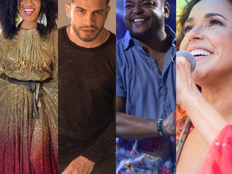 Ouça aí, vei! Daniela Mercury, Ara Ketu, Ávine, Mariene de Castro e Anitta lançam músicas novas