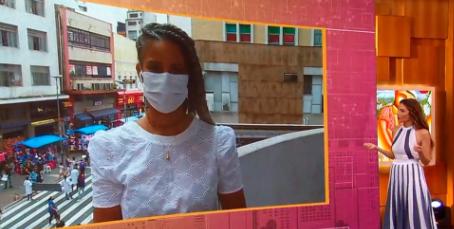 Rita Batista estreia na TV Globo com participação no 'Encontro'; veja