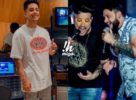 EXCLUSIVO: Kevi Jonny está em Minas para gravar feat com Diego & Victor Hugo