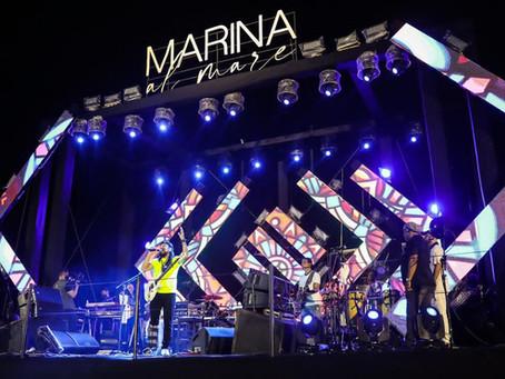 De bota ortopédica, Bell Marques retorna aos palcos em Fortaleza