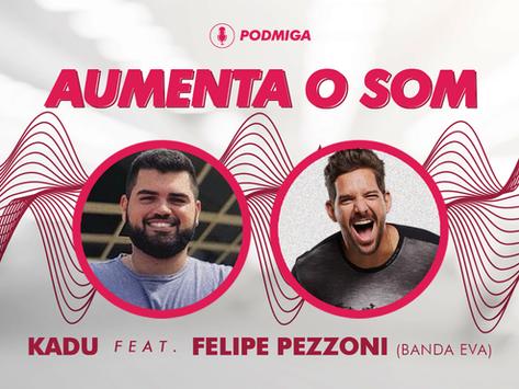 AUMENTA O SOM! Felipe Pezzoni comenta espera por filho Matteo e revela convite para reality show